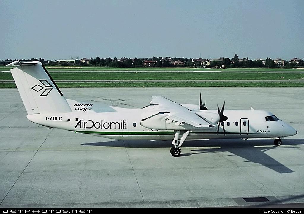 I-ADLC - Bombardier Dash 8-311 - Air Dolomiti