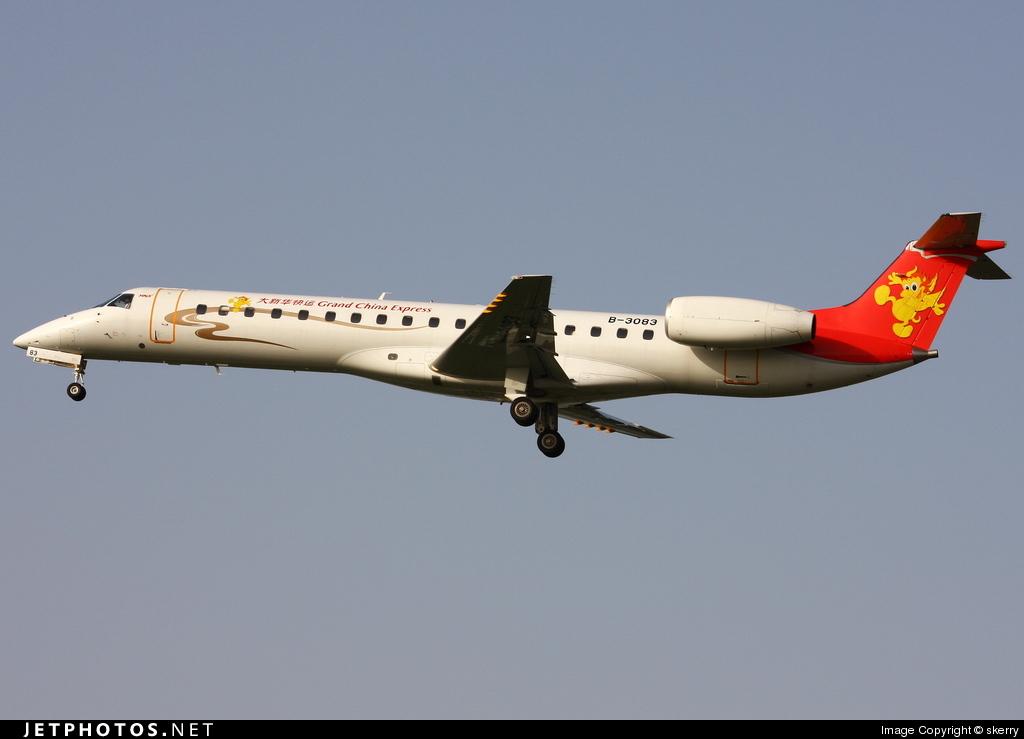 B-3083 - Embraer ERJ-145LI - Grand China Express