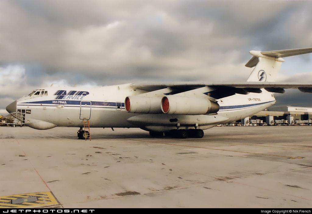 UR-78756 - Ilyushin IL-76MD - Air Service