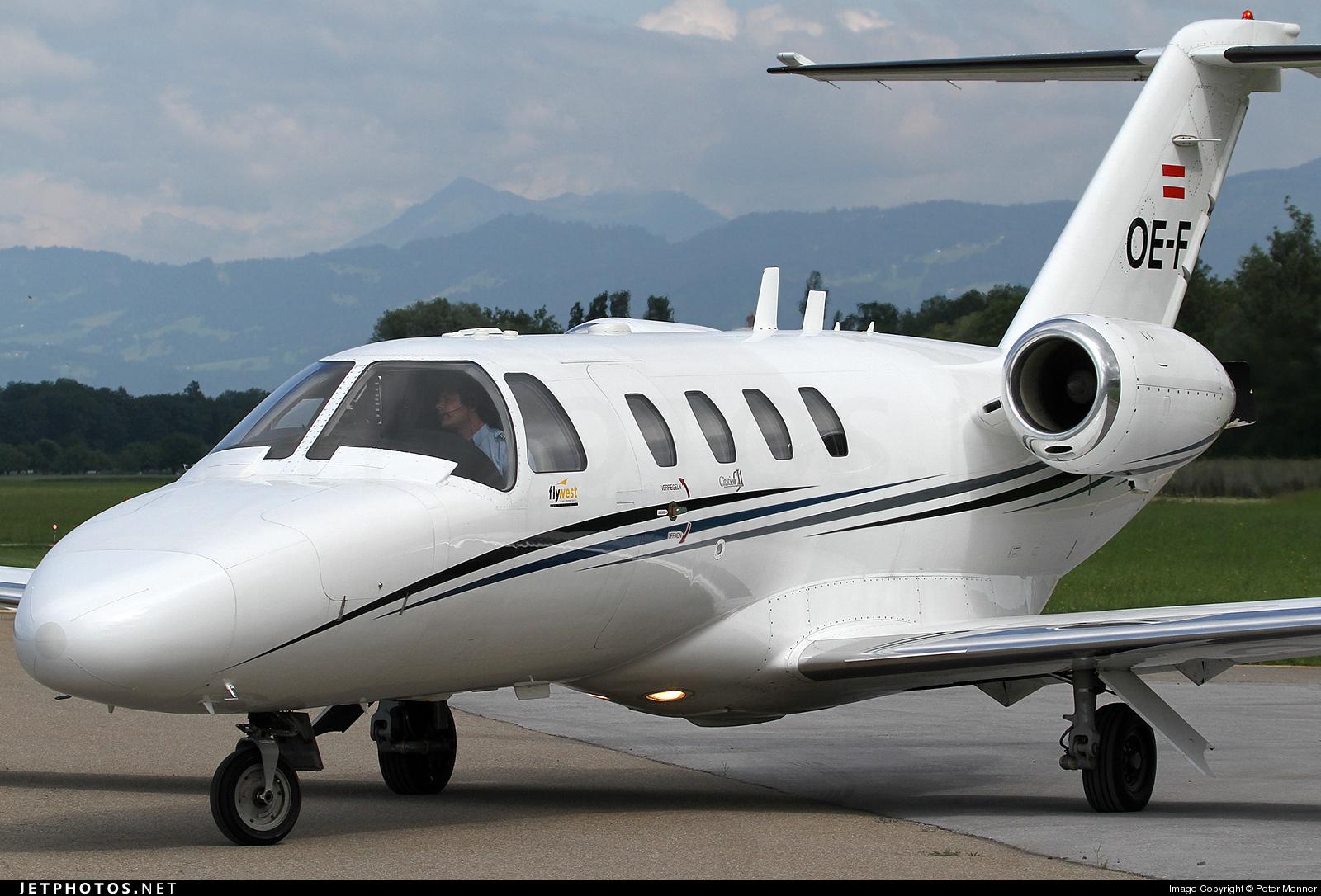 OE-FOI - Cessna 525 CitationJet 1 - Fly Tyrol