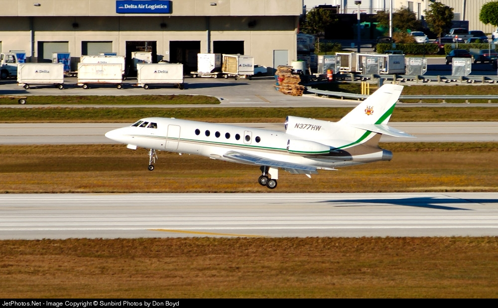 N377HW - Dassault Falcon 50EX - Proflights
