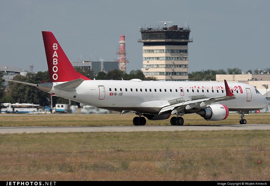 HB-JQF - Embraer 190-100LR - Baboo