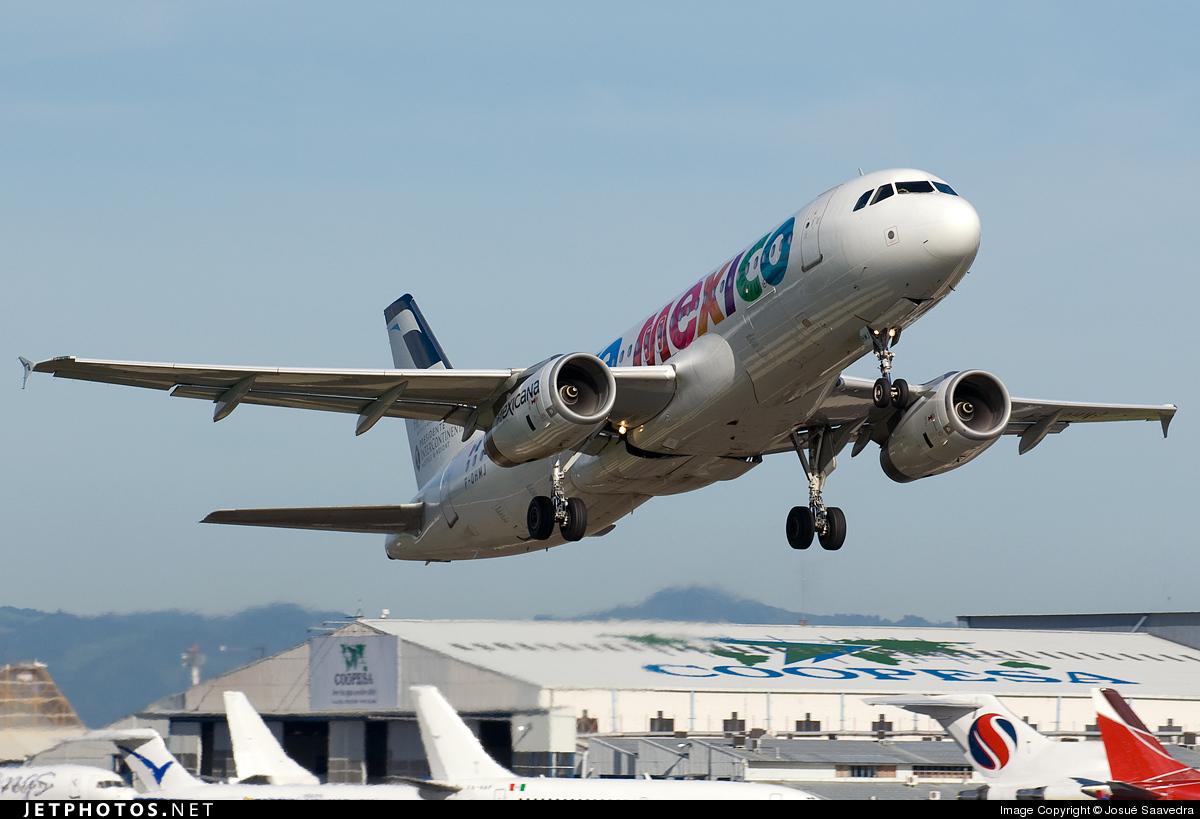 F-OHMJ - Airbus A320-231 - Mexicana