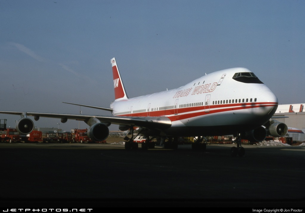 N93118 - Boeing 747-131 - Trans World Airlines (TWA)