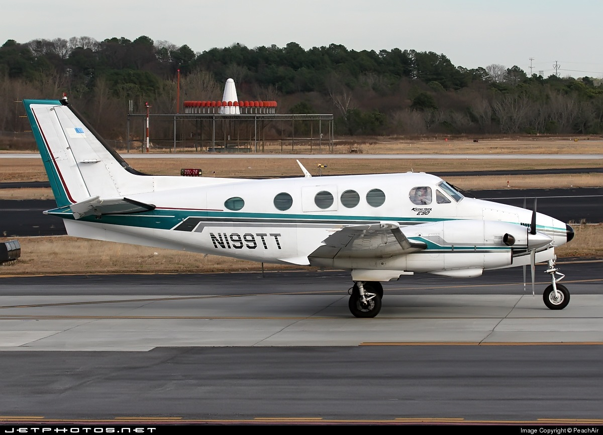 N199TT - Beechcraft E90 King Air - Private