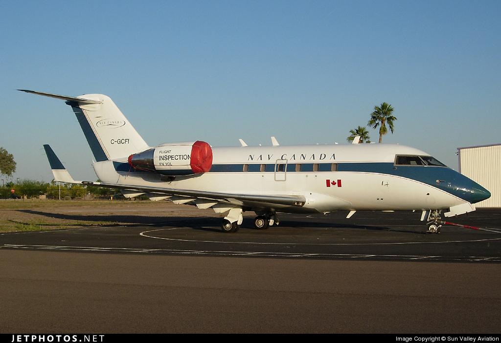 C-GCFI - Bombardier CL-600-2A12 Challenger 601 - Nav Canada