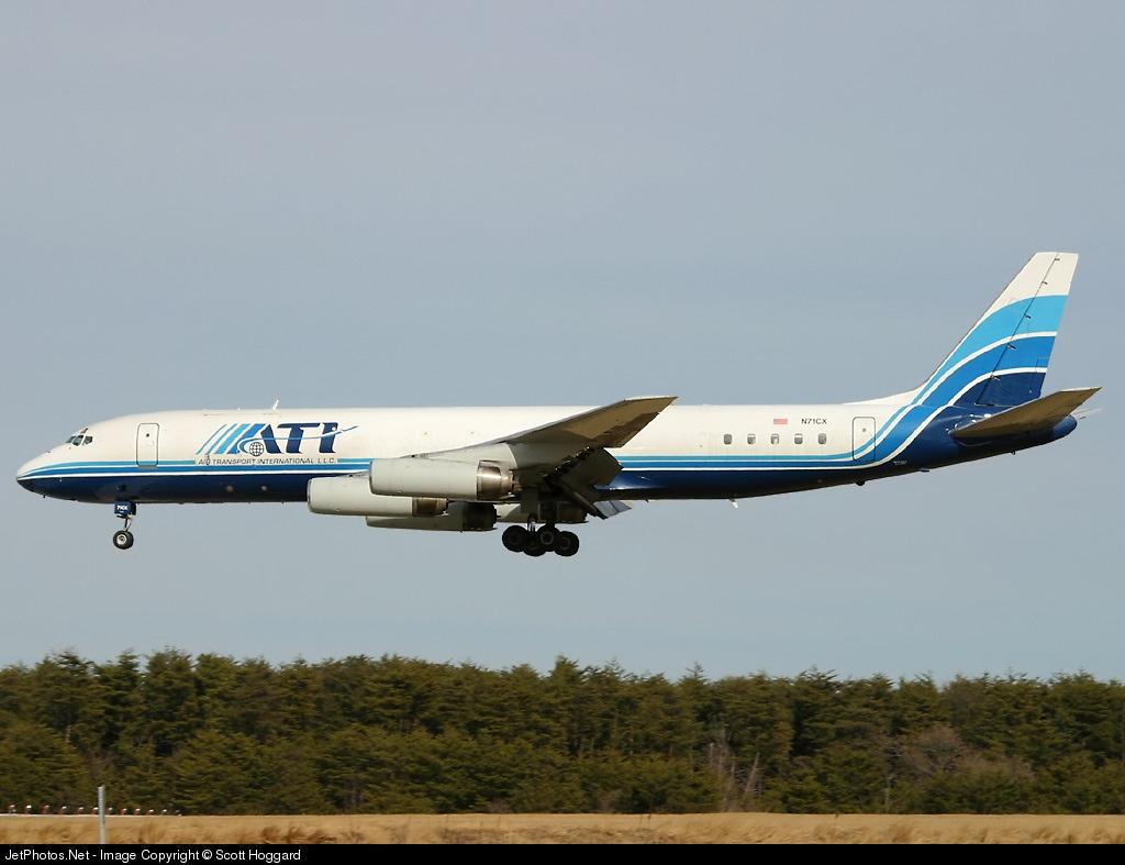 N71CX - Douglas DC-8-62(F) - Air Transport International (ATI)