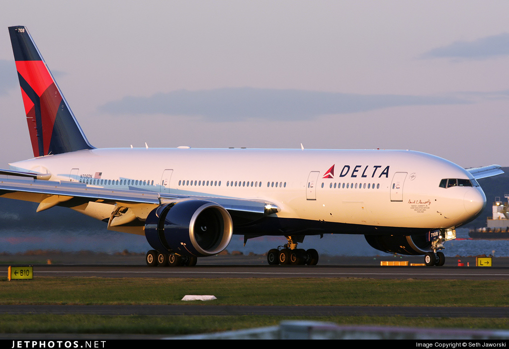 N708DN | Boeing 777-232LR | Delta Air Lines | Seth Jaworski