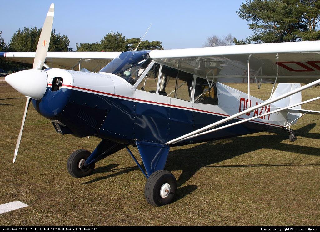 OO-AZM - Aviat A-1 Husky - Private
