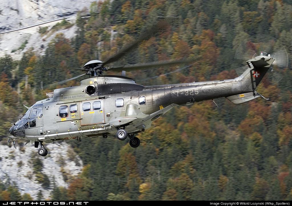 T-325 - Aérospatiale AS 332M1 Super Puma - Switzerland - Air Force