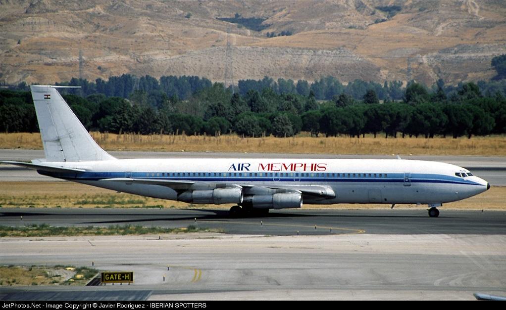 SU-PBA - Boeing 707-336C - Air Memphis
