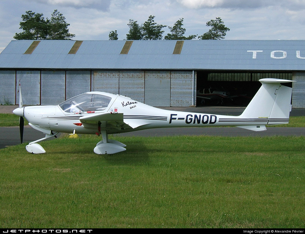 F-GNQD - Diamond DA-20-A1 Katana - Private