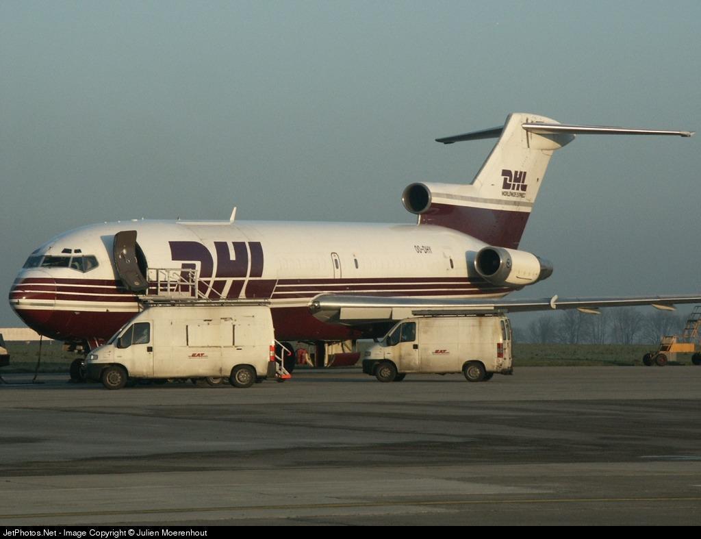 OO-DHY - Boeing 727-230(Adv)(F) - DHL (European Air Transport)
