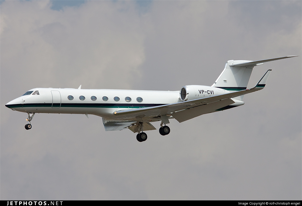 VP-CVI - Gulfstream G550 - Private