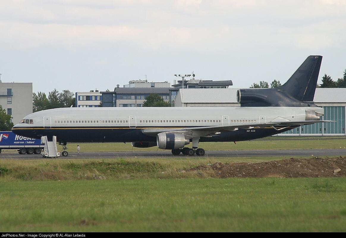 A8-AAA - Lockheed L-1011-100 Tristar - International Air Services