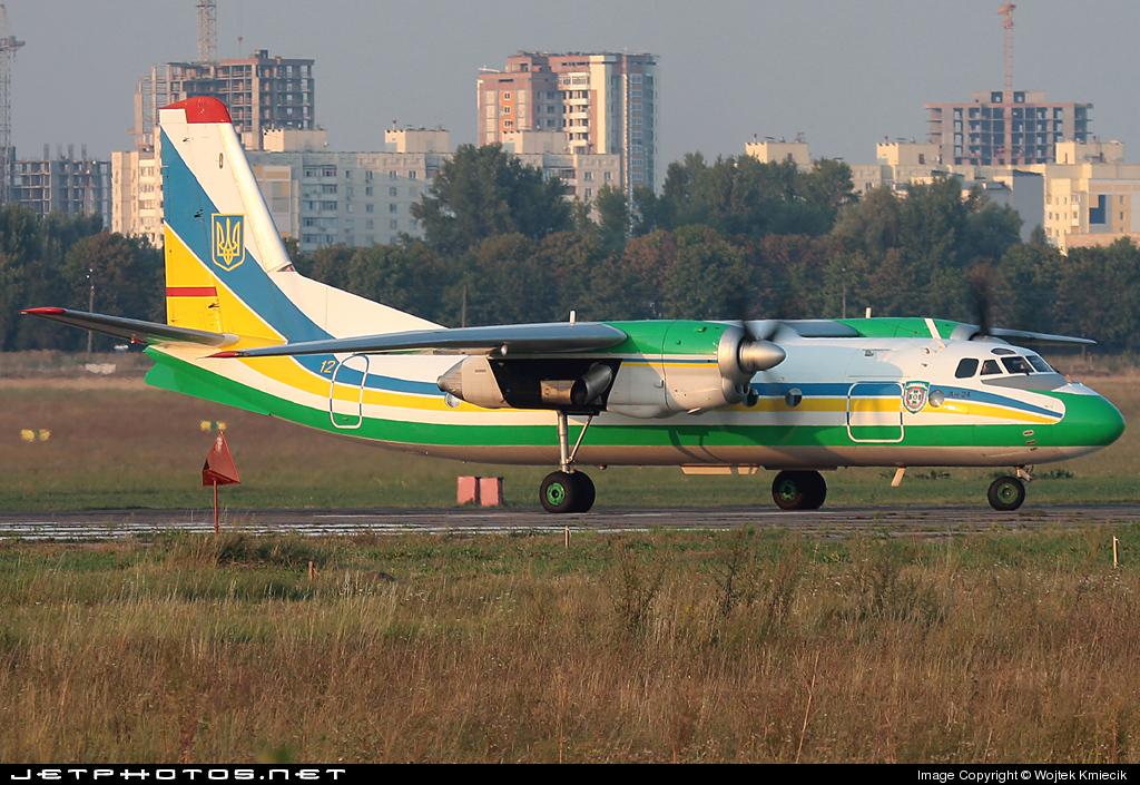 12 - Antonov An-24 - Ukraine - Border Police