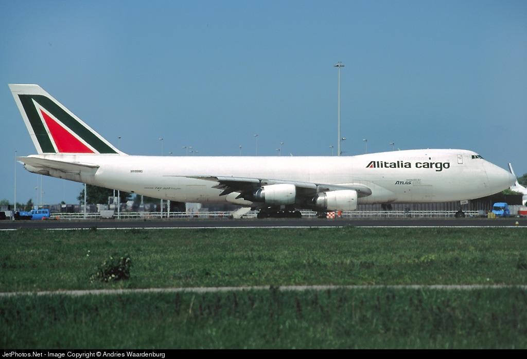 N536MC - Boeing 747-228F(SCD) - Alitalia Cargo (Atlas Air)