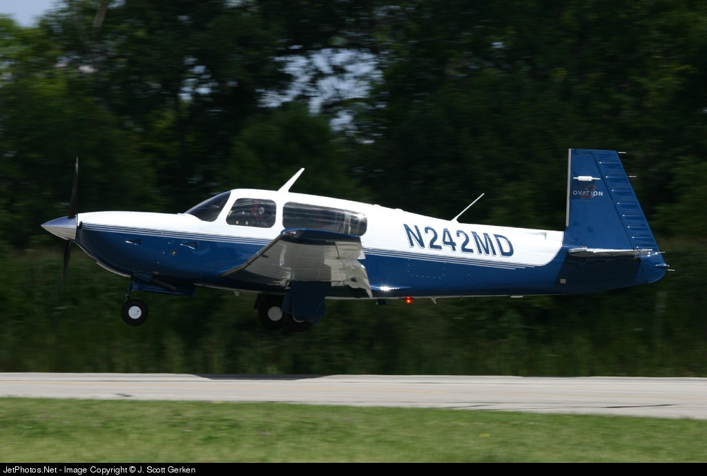 N242MD - Mooney M20R Ovation - Private