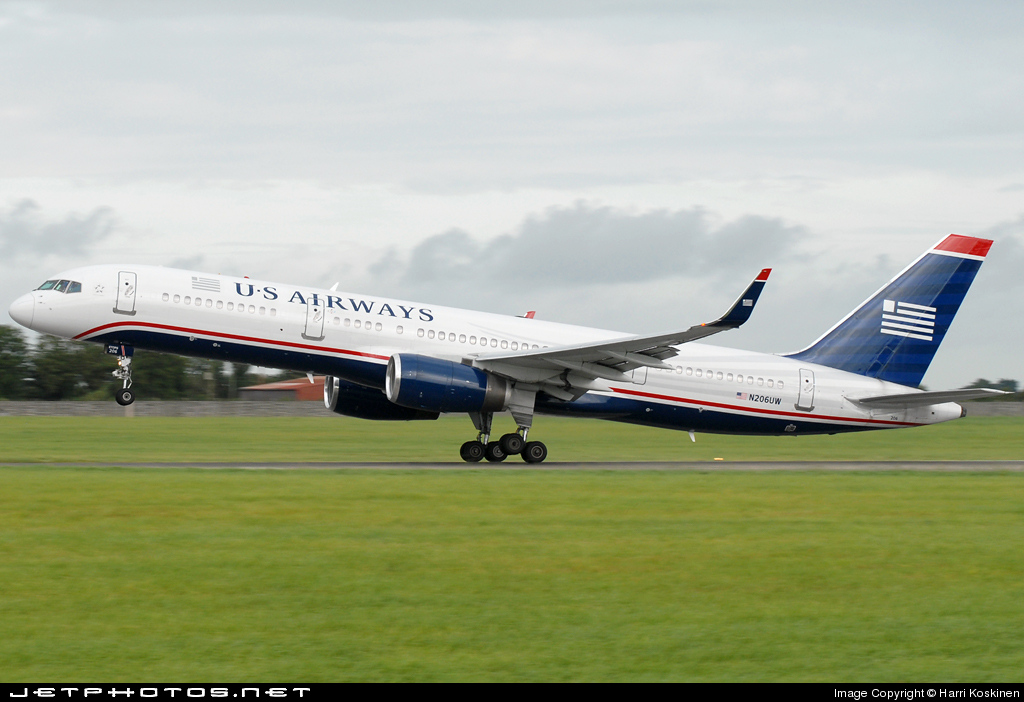 N206UW - Boeing 757-2B7 - US Airways