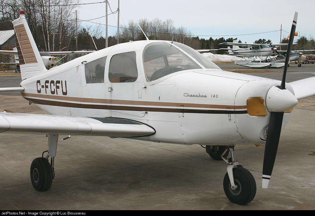 C-FCFU - Piper PA-28-140 Cherokee - Private