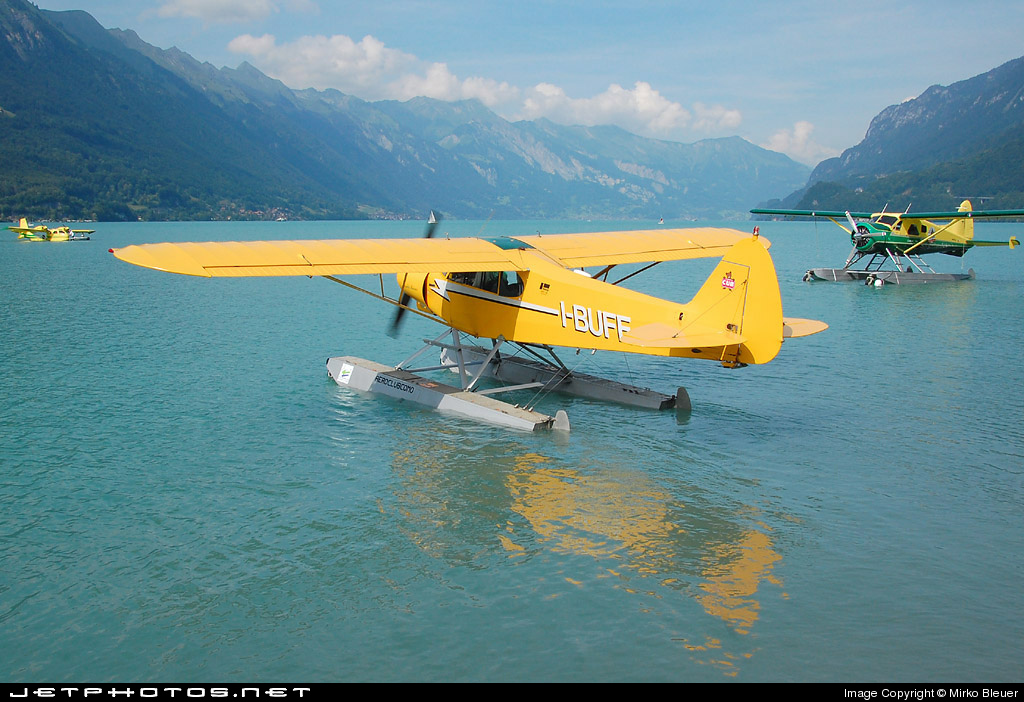 I-BUFF - Piper PA-18-180M Super Cub - Aero Club - Como