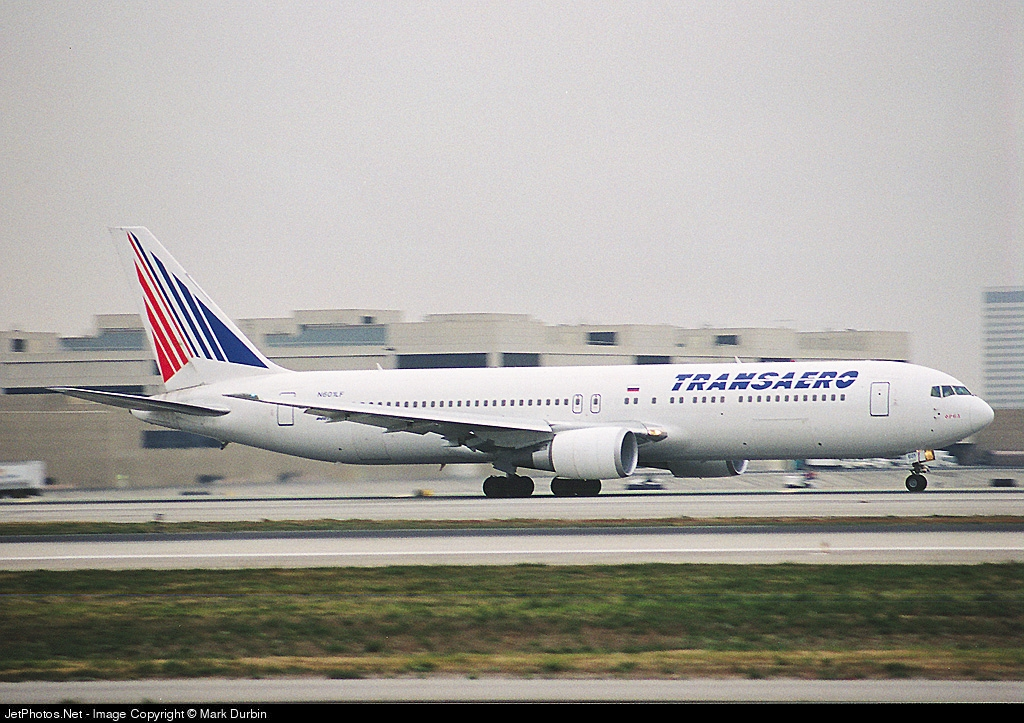N601LF - Boeing 767-3Q8 - Transaero Airlines
