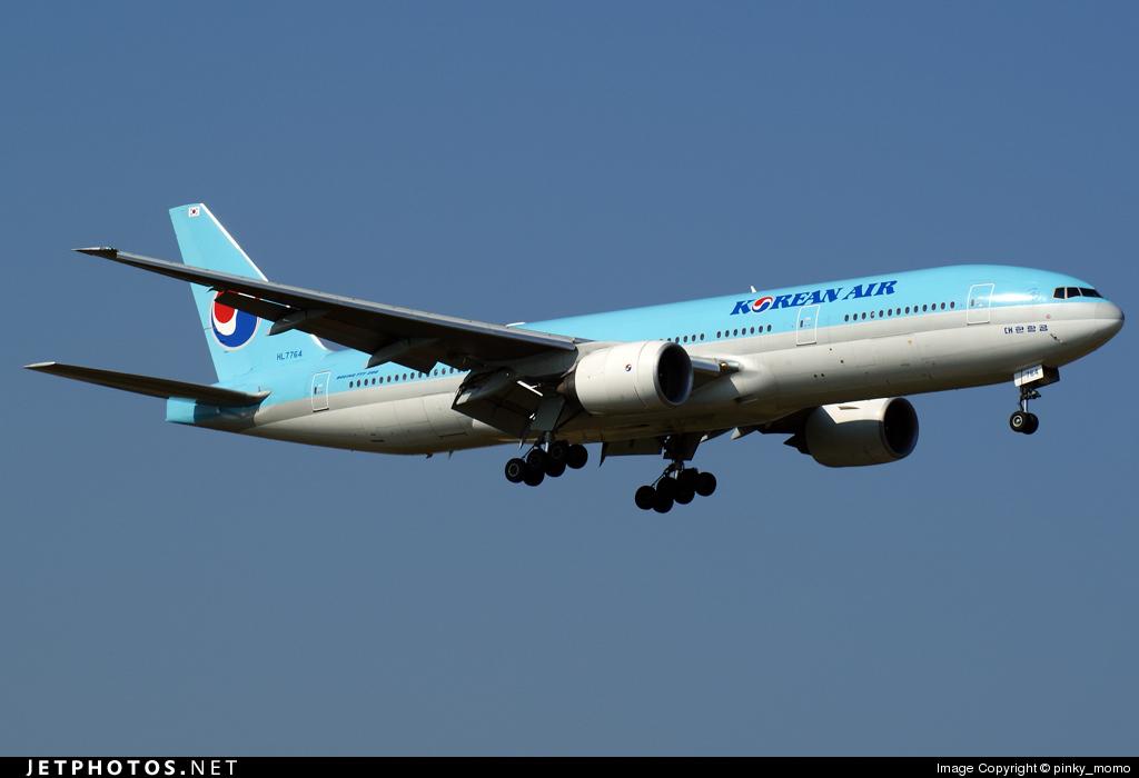 HL7764 - Boeing 777-2B5(ER) - Korean Air