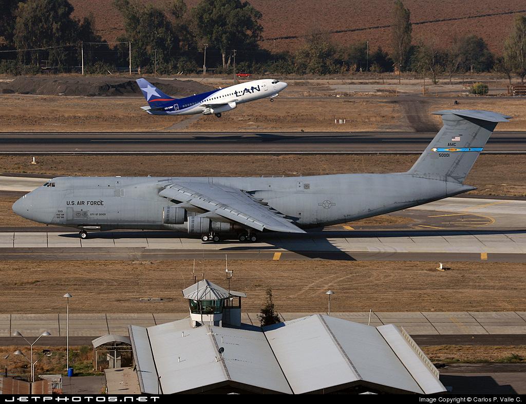 85-0001 - Lockheed C-5B Galaxy - United States - US Air Force (USAF)