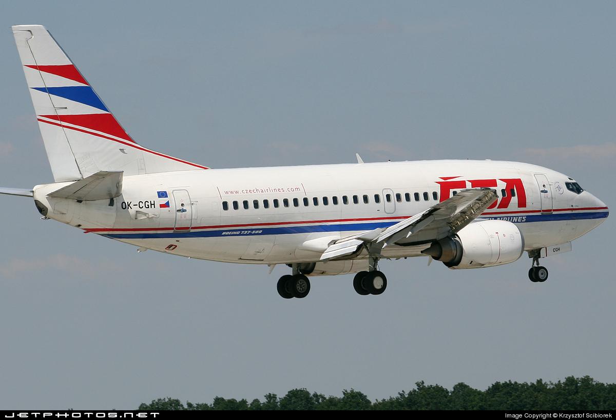 OK-CGH - Boeing 737-55S - CSA Czech Airlines
