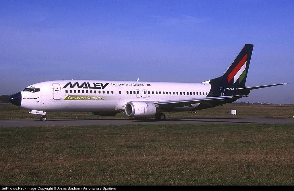 HA-LEZ | Boeing 737-4Q8 | Malév Hungarian Airlines | Alexis Boidron /  Aeronantes Spotters | JetPhotos