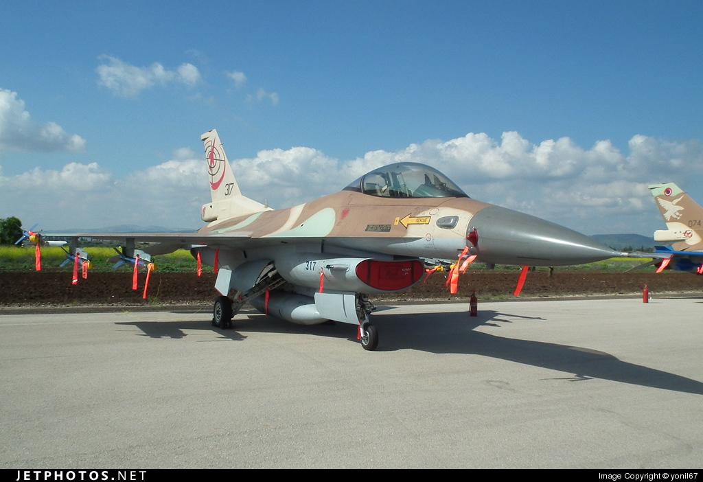 317 - Lockheed Martin F-16C Barak - Israel - Air Force