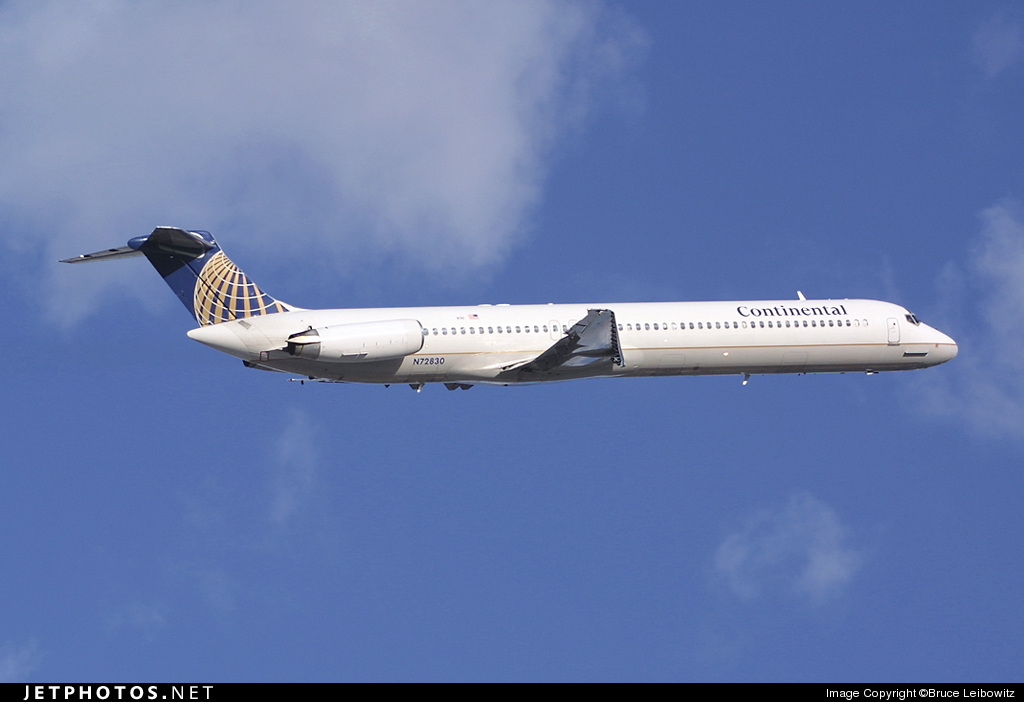 N72830 - McDonnell Douglas MD-82 - Continental Airlines