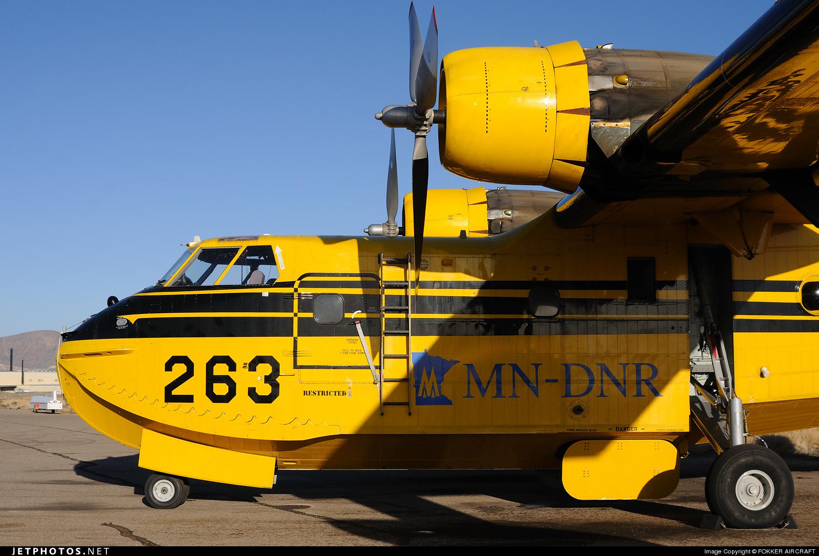 N263NR - Canadair CL-215 - AeroFlite