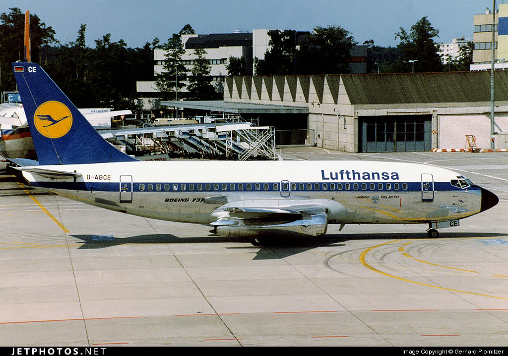 D-ABCE - Boeing 737-230C - Lufthansa