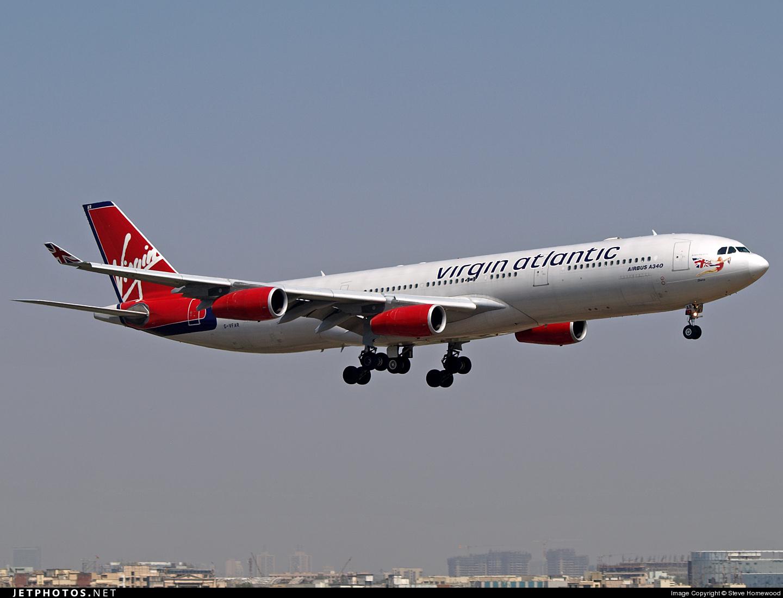 G-VFAR | Airbus A340-313X | Virgin Atlantic Airways | Steve Homewood