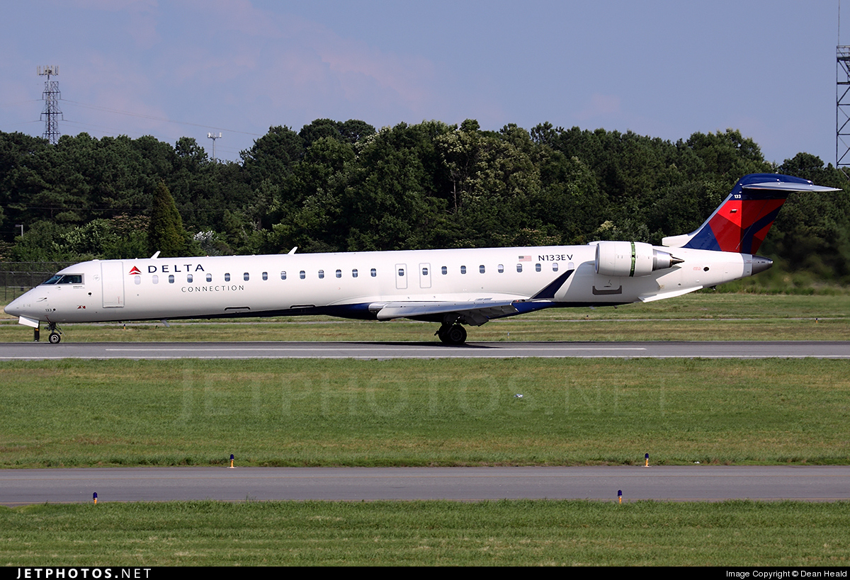N133EV - Bombardier CRJ-900LR - Delta Connection (Atlantic Southeast Airlines)