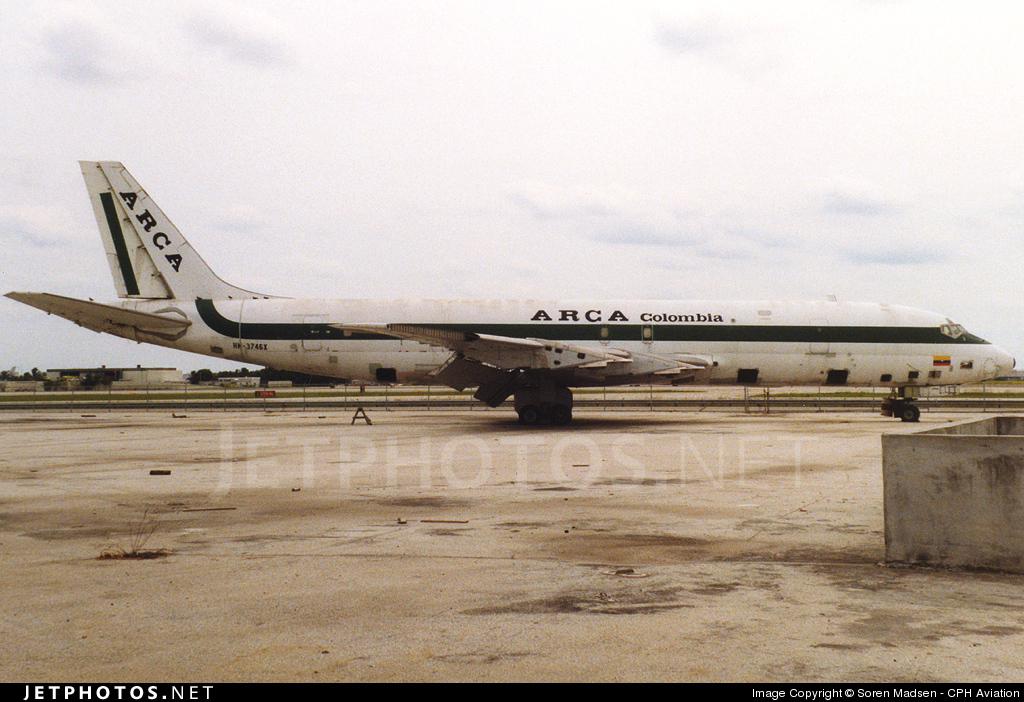 HK-3746X - Douglas DC-8-53(F) - ARCA Colombia