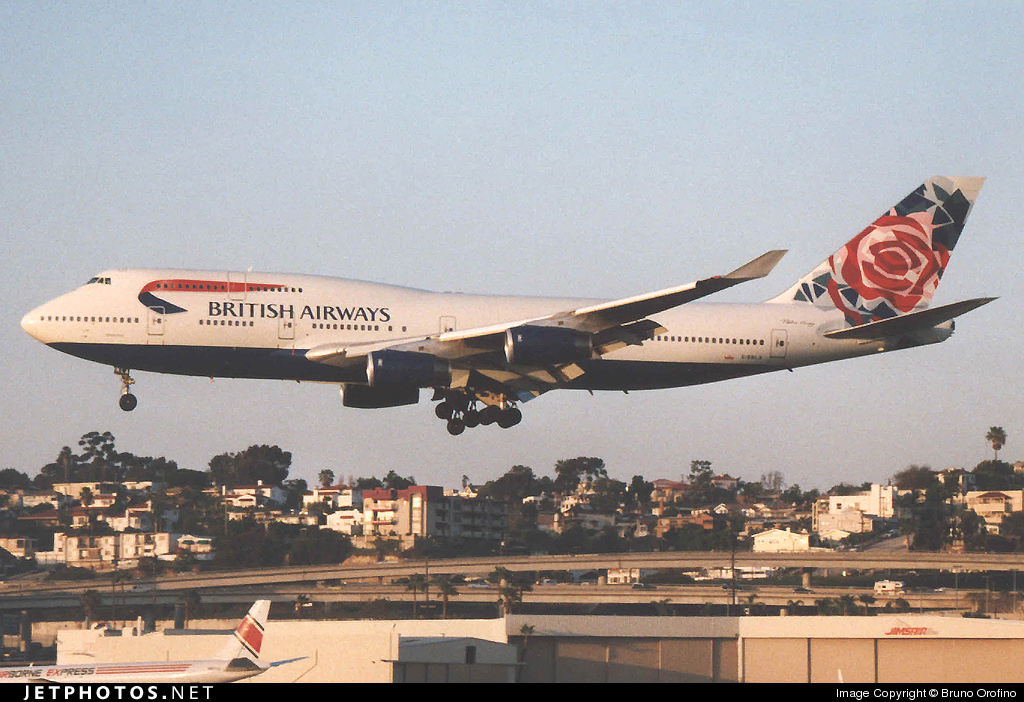 G-BNLA - Boeing 747-436 - British Airways