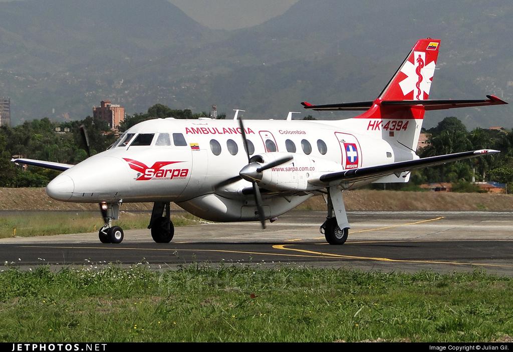 HK-4394 - British Aerospace Jetstream 32 - SARPA - Servicios Aéreos Panamericanos