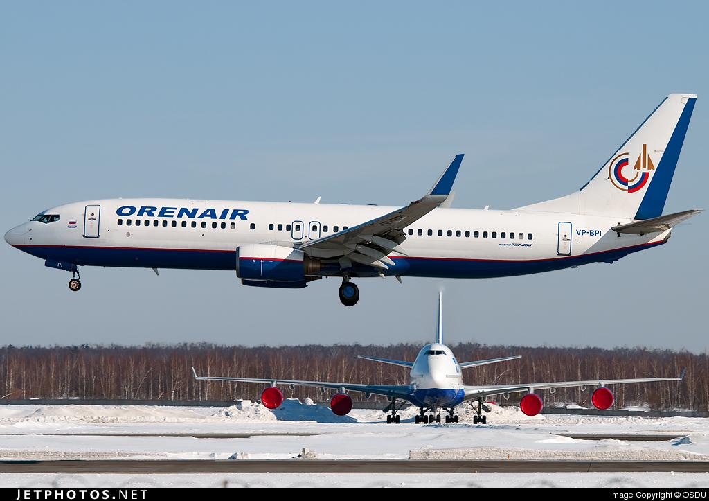 VP-BPI - Boeing 737-83N - Orenair