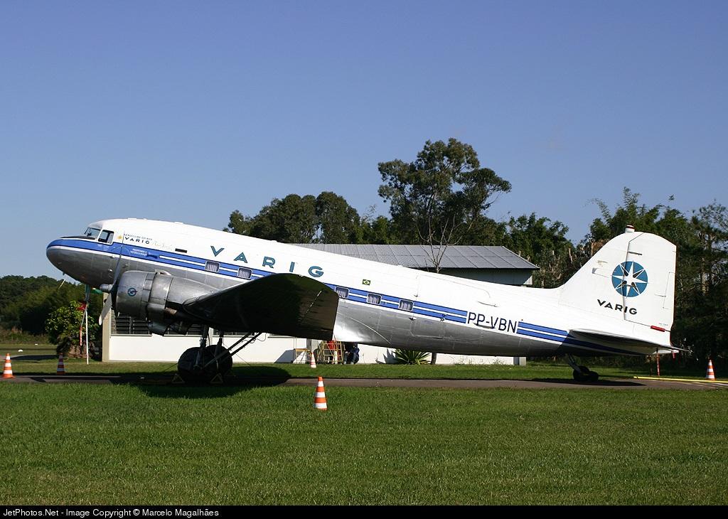 PP-VBN - Douglas DC-3 - Aero Club do Rio Grande do Sul