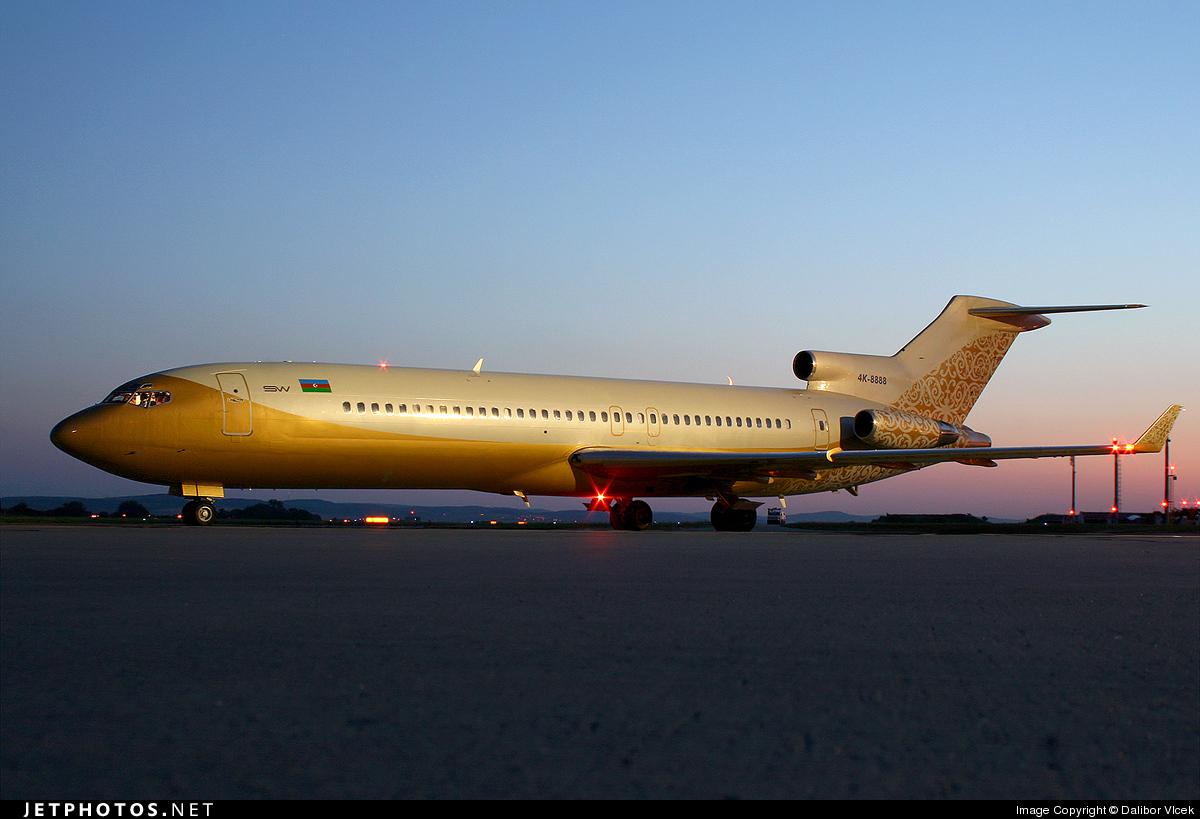 4K-8888 - Boeing 727-251(Adv) - SW Business Aviation