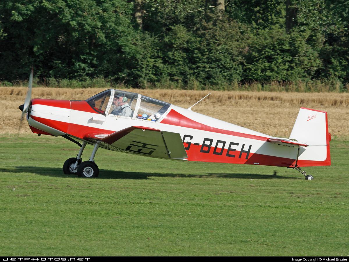 G-BDEH - Jodel D120A Paris-Nice - Private