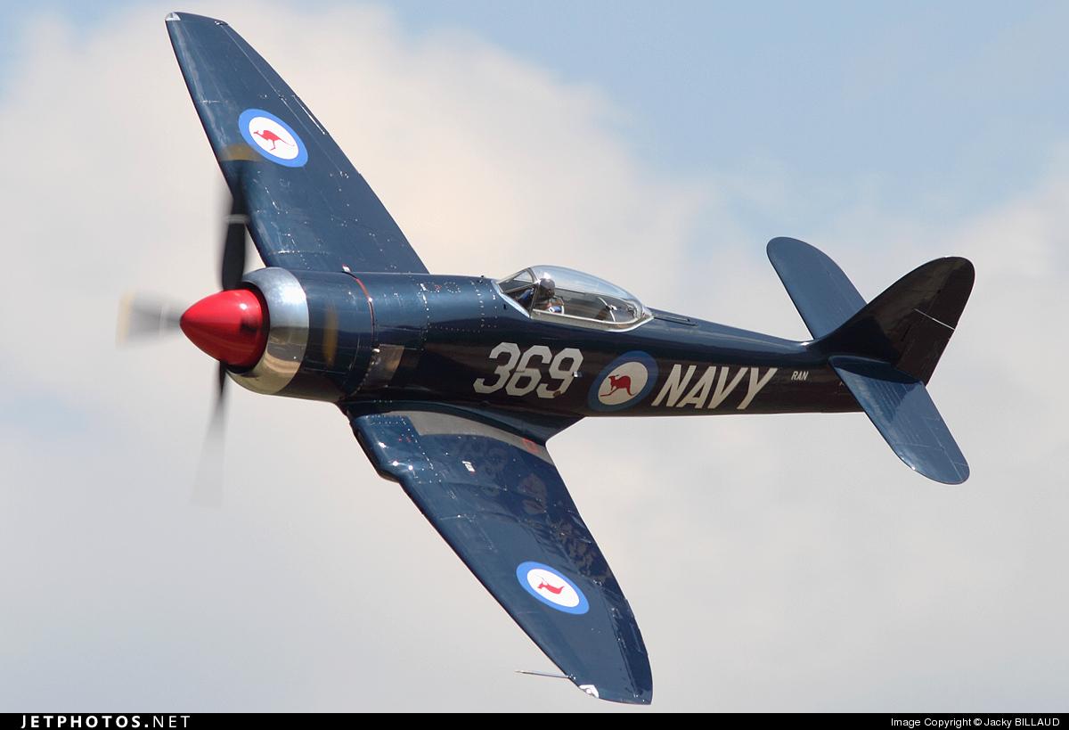 F-AZXL - Hawker Fury FB.11 - Private