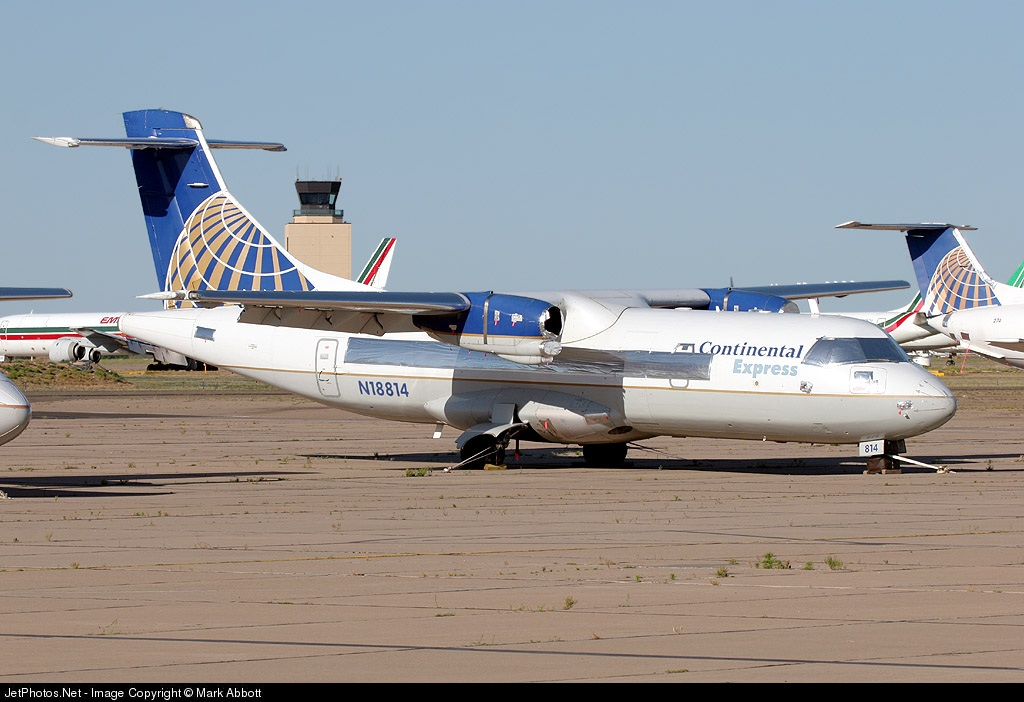 N18814 - ATR 42-320 - Continental Express (ExpressJet Airlines)