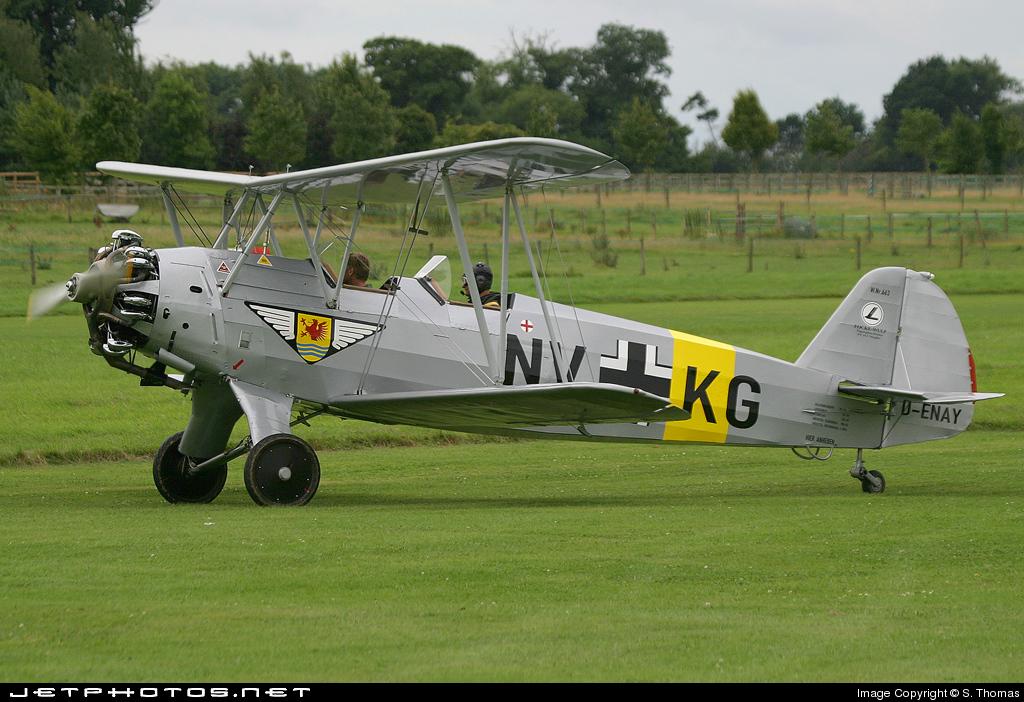 D-ENAY - Focke-Wulf Fw44J Stieglitz - Private