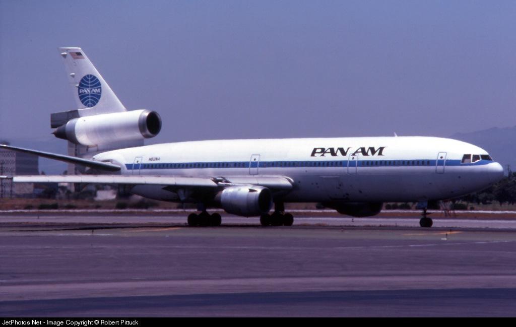 N62NA - McDonnell Douglas DC-10-10 - Pan Am