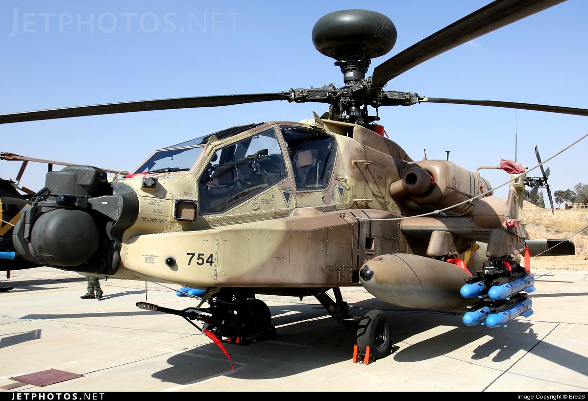 754 - Boeing AH-64D Saraf - Israel - Air Force