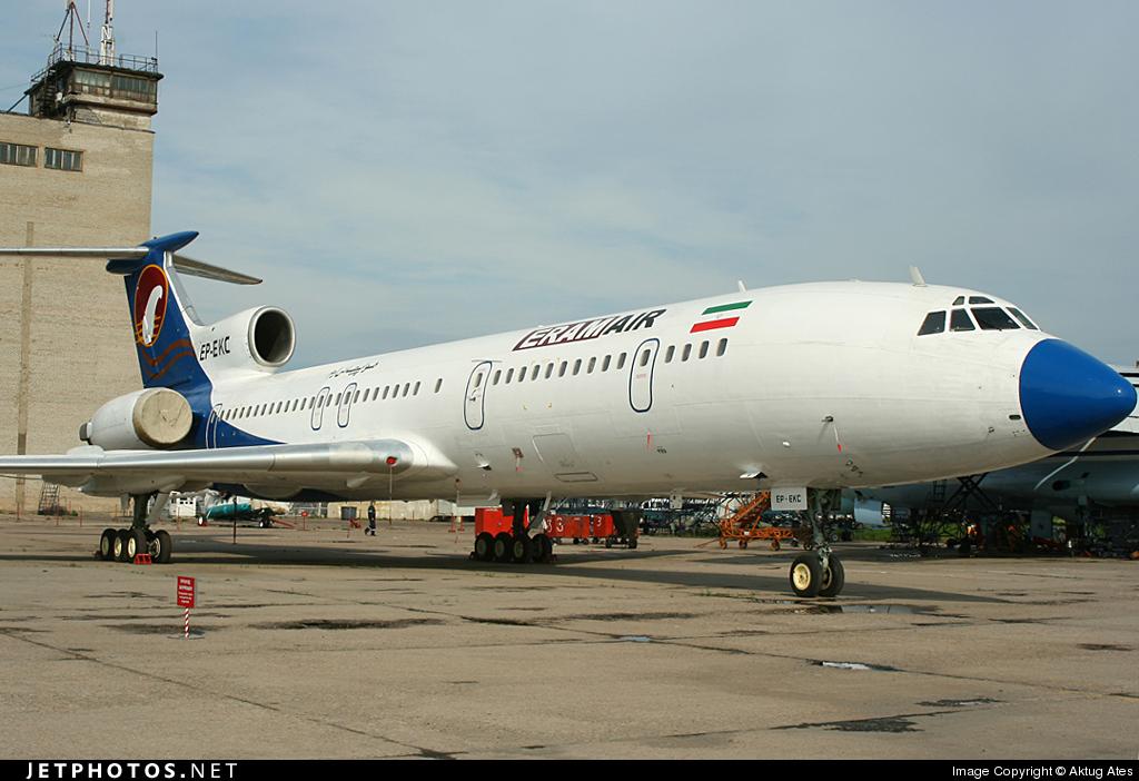 EP-EKC - Tupolev Tu-154M - Eram Air