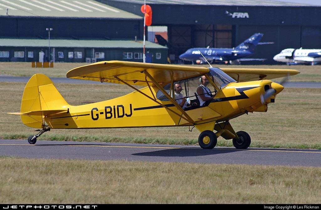 G-BIDJ - Piper PA-18-150 Super Cub - Private